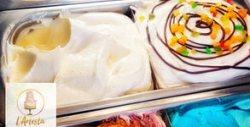 1кг безглутенов сладолед с вкус по избор - със захар или стевия