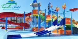 Водни забавления край Балчик! Целодневен вход за аквапарк, плюс ползване на паркинг - в с. Топола