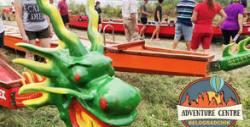 Водно приключение край Белоградчик! Плаване с драконова лодка в Рабишкото езеро