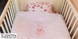 Бебешки спален комплект от 100% деликатен памук ранфорс в десен по избор