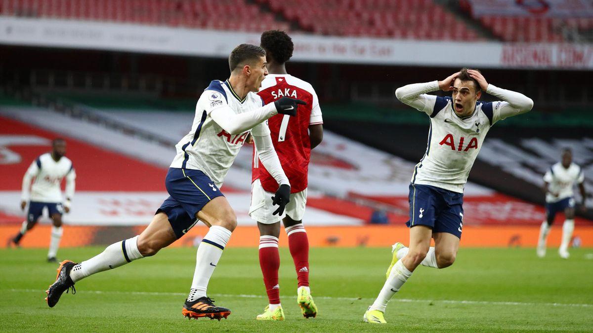 Arsenal 2-1 Tottenham: Erik Lamela wonder goal can't hide Spurs'  inadequacies - The Warm-Up - Eurosport