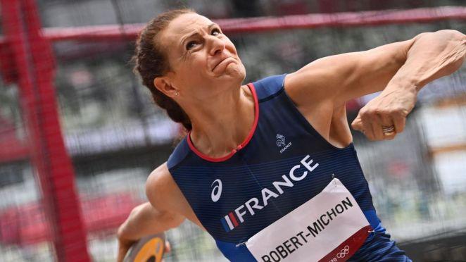 Mélina Robert-Michon aux Jeux de Tokyo en 2021