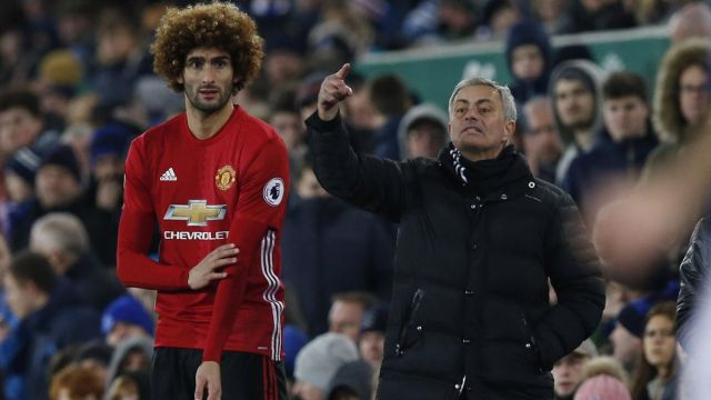 Manchester United manager Jose Mourinho backs Marouane Fellaini despite  frosty reception from fans - Eurosport
