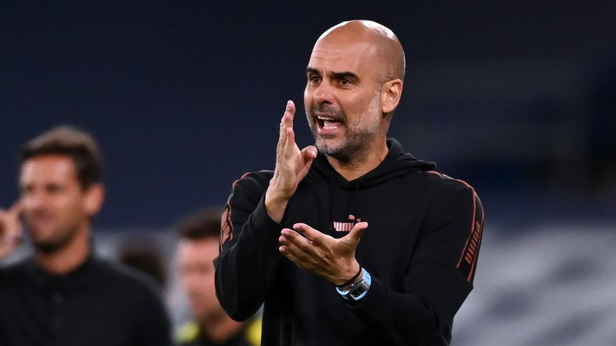 Pep Guardiola says he only has 13 fit players in his Manchester City squad  - Eurosport