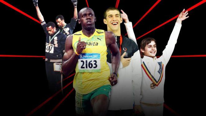 John Carlos, Tommie Smith, Usain Bolt, Michael Phelps et Nadio Comaneci ont un point commun : ils ont été les protagonistes de grands moments olympiques.