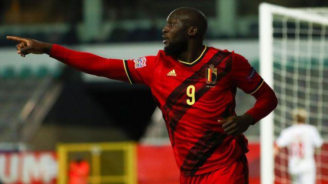 Nations League: Romelu Lukaku double sends Belgium past Denmark and into  final four - Eurosport