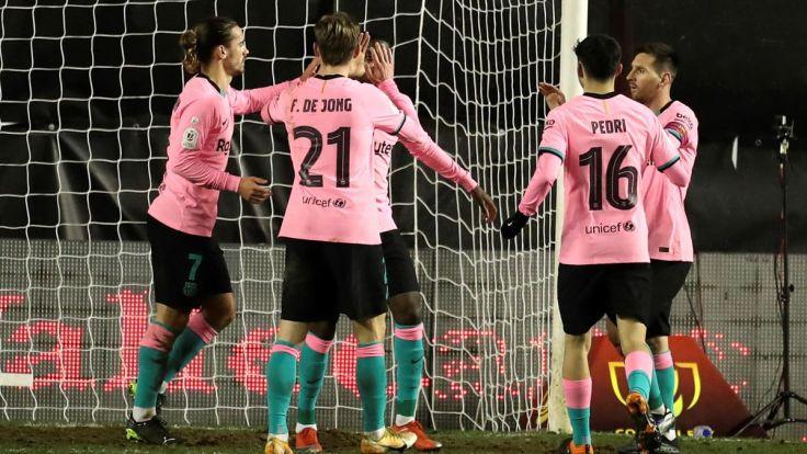 Resumen Rayo-Barcelona: De Jong quiere la Copa - Eurosport