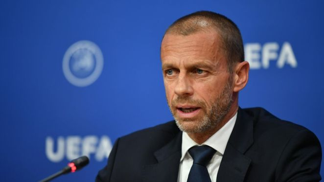 Aleksander Ceferin, UEFA-Präsident