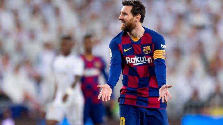 Messi will be hoping to end a run of no goals in his last five Clasico matches