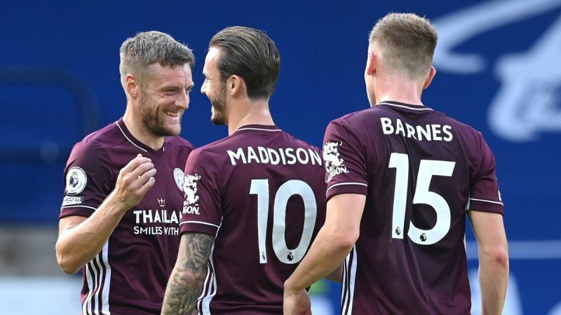 Jamie Vardy bags brace as Leicester City ruin West Brom's top-flight return  - Eurosport