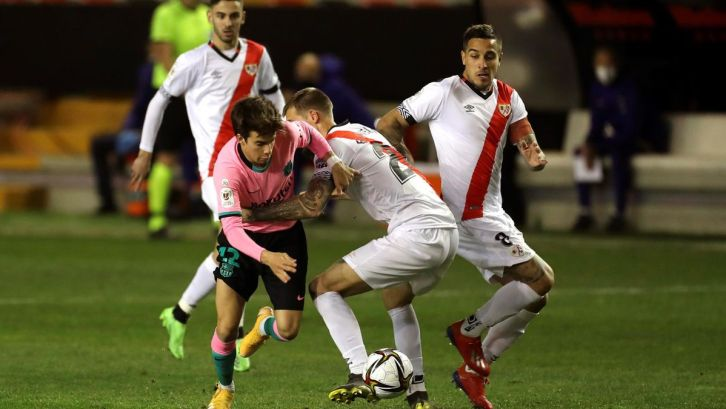 En directo, Rayo-Barcelona: Fran García adelanta a los vallecanos -  Eurosport
