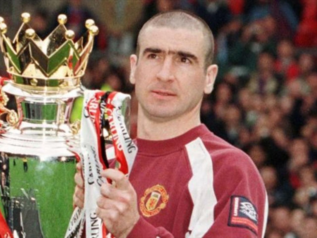 Eric cantona is one of the most flamboyant players ever in football and his antics off the field. A Look Back At Eric Cantona S Career In English Football Eurosport