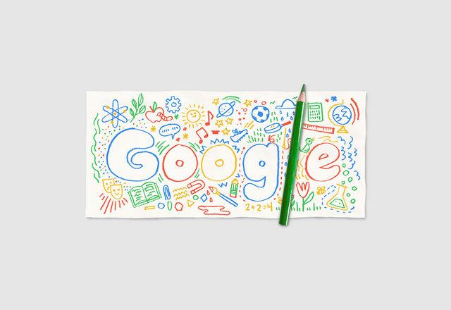 Google okulun ilk günü doodle'ı hazırladı