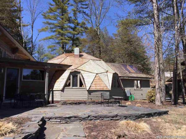 15M Catskills Home Is Part Geodesic Dome Part Prairie