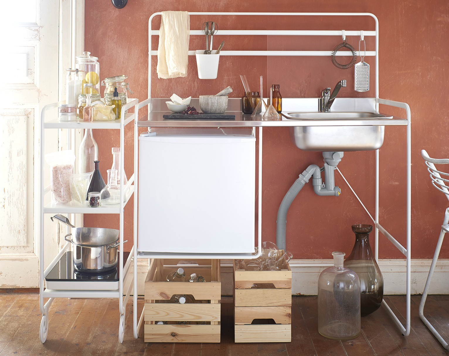 The right storage bed for the right space. Ikea Is Selling A Full Mini Kitchen For Only 112 6sqft