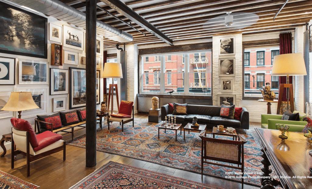 An Art Dealer's Loft Plus A Superfancy Townhouse Equal