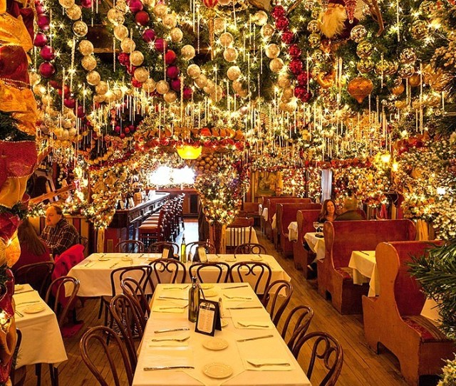 The Urban Lens Inside The Christmas Wonderland That Is Rolfs German Restaurant