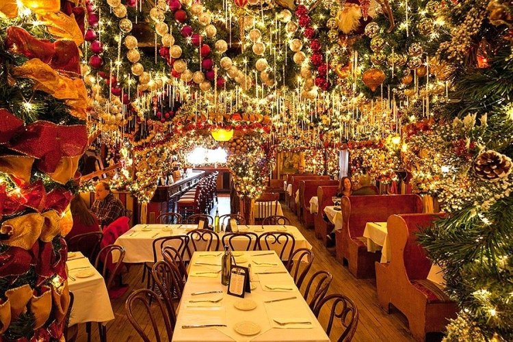 Winter proposal idea, Rolf's NYC restaurant