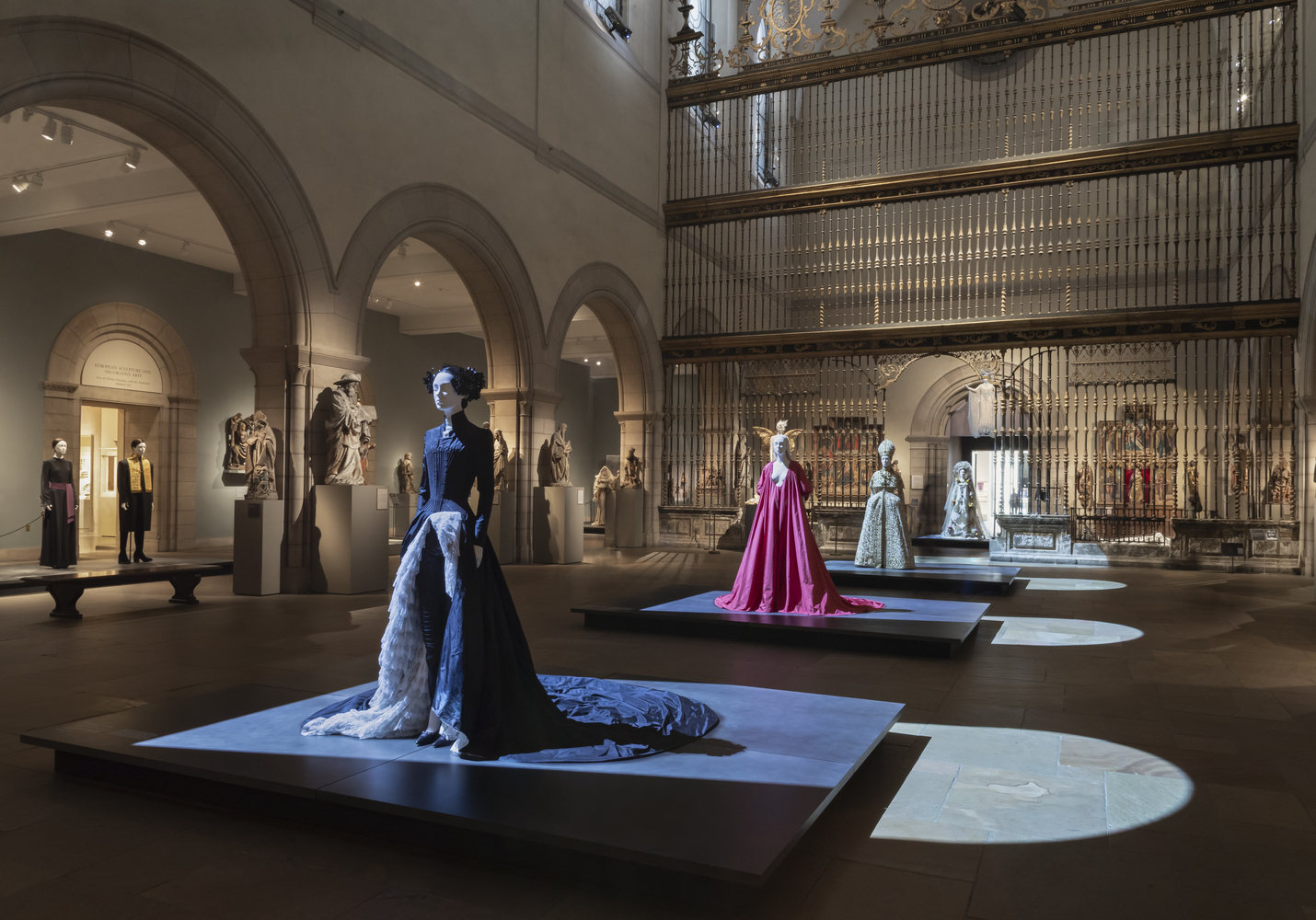 """Tour the fashion and architecture of the Met's """"Heavenly Bodies"""" exhibit 