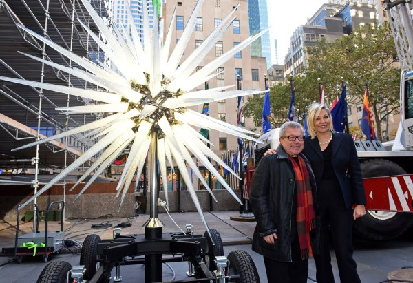 Daniel Libeskind's 900-pound star brings the bling to this ...