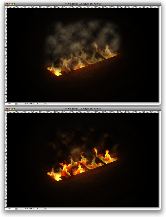 Hell of Tutorial in Photoshop