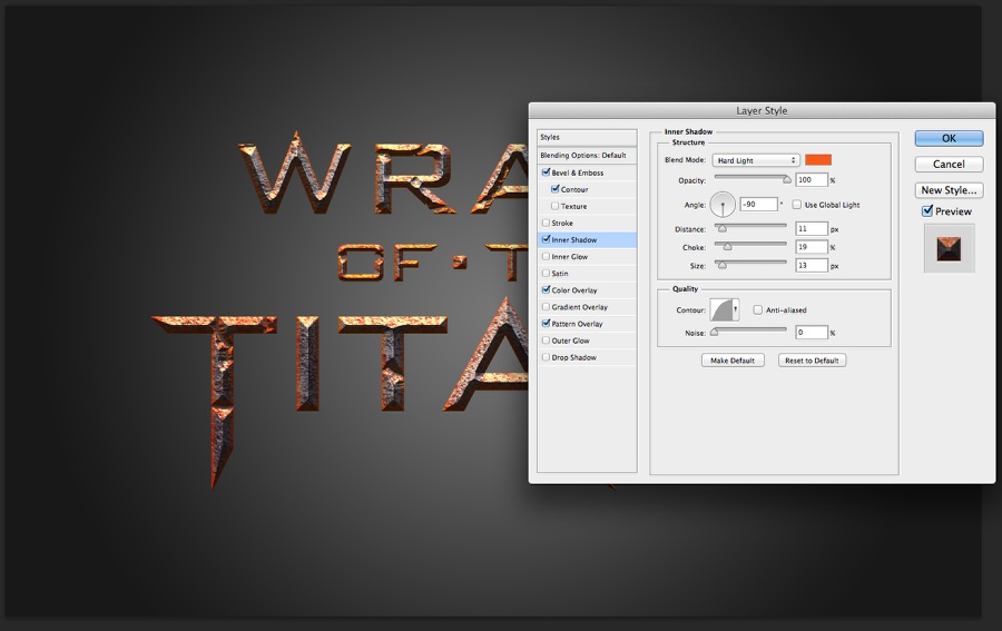 Wrath of the Titans in Photoshop CS6