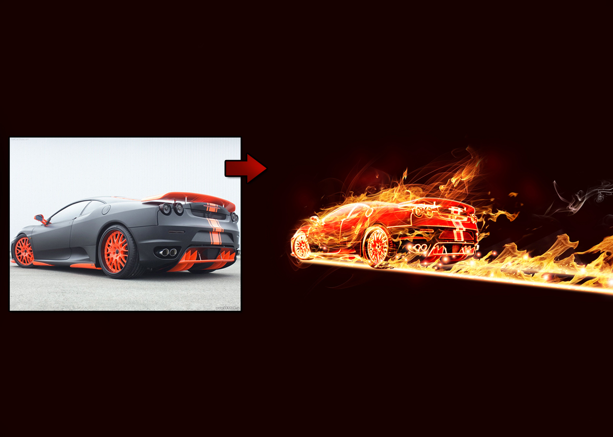 Reader Tutorial: Flaming Car by Lincoln Soares