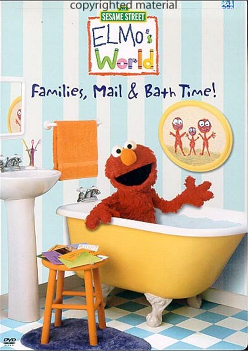 S World Elmo Has Two Dvd