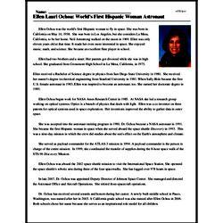 Ellen Lauri Ochoa: World's First Hispanic Woman Astronaut ...