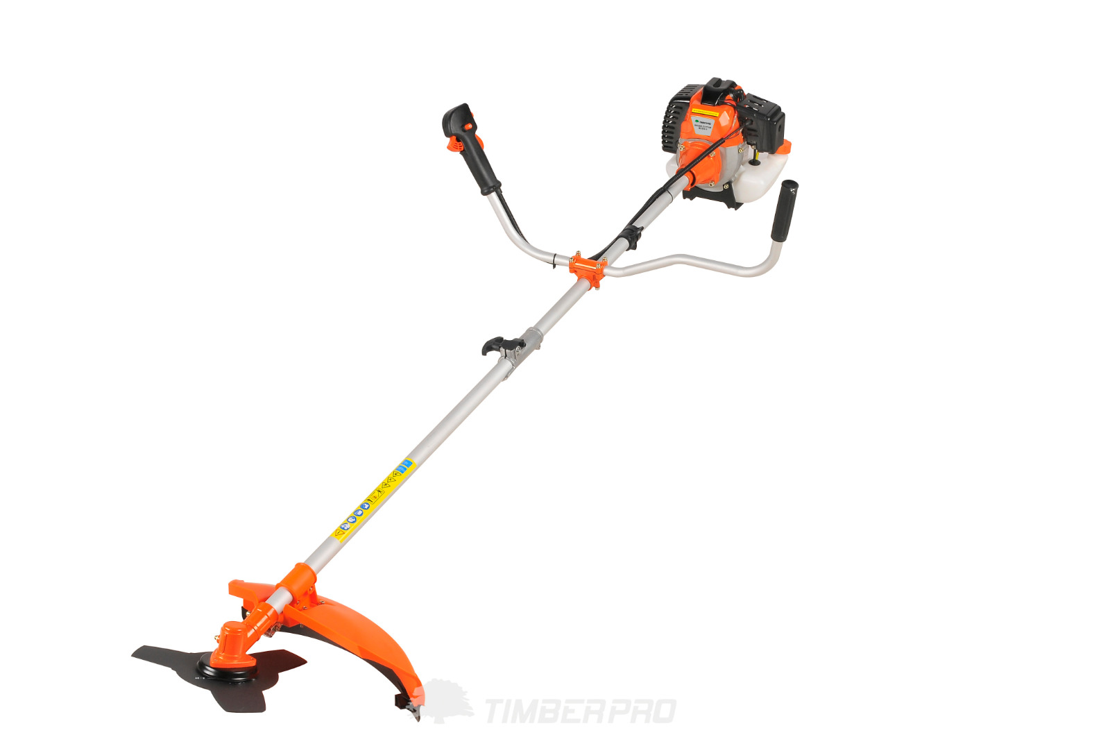 Heavy Duty 52cc Petrol Powered Strimmer Grass Trimmer Brush Cutter Amp 3 Blades