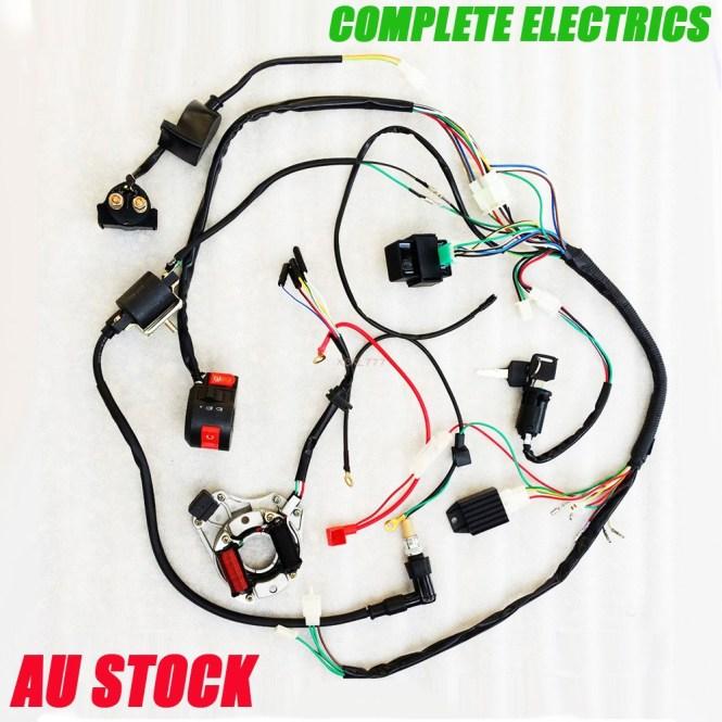 Pit Bike Wiring Diagram 110cc - Wiring Diagram