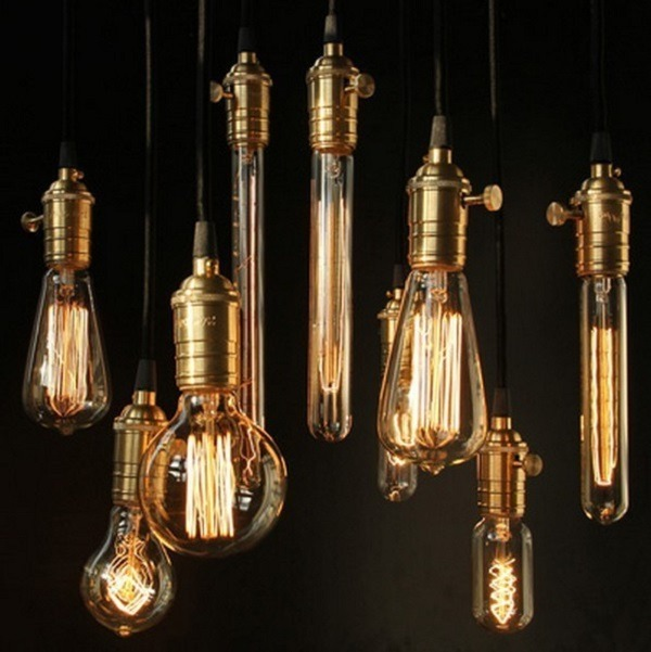 Filament Bulb Light Fixtures