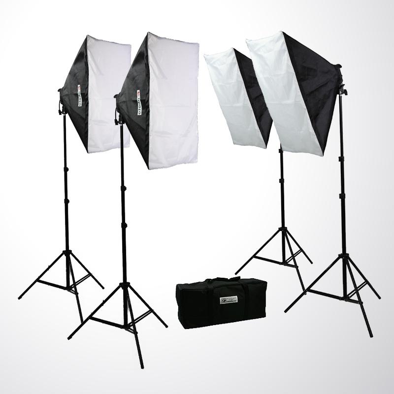 Continuous Portrait Lighting Kits
