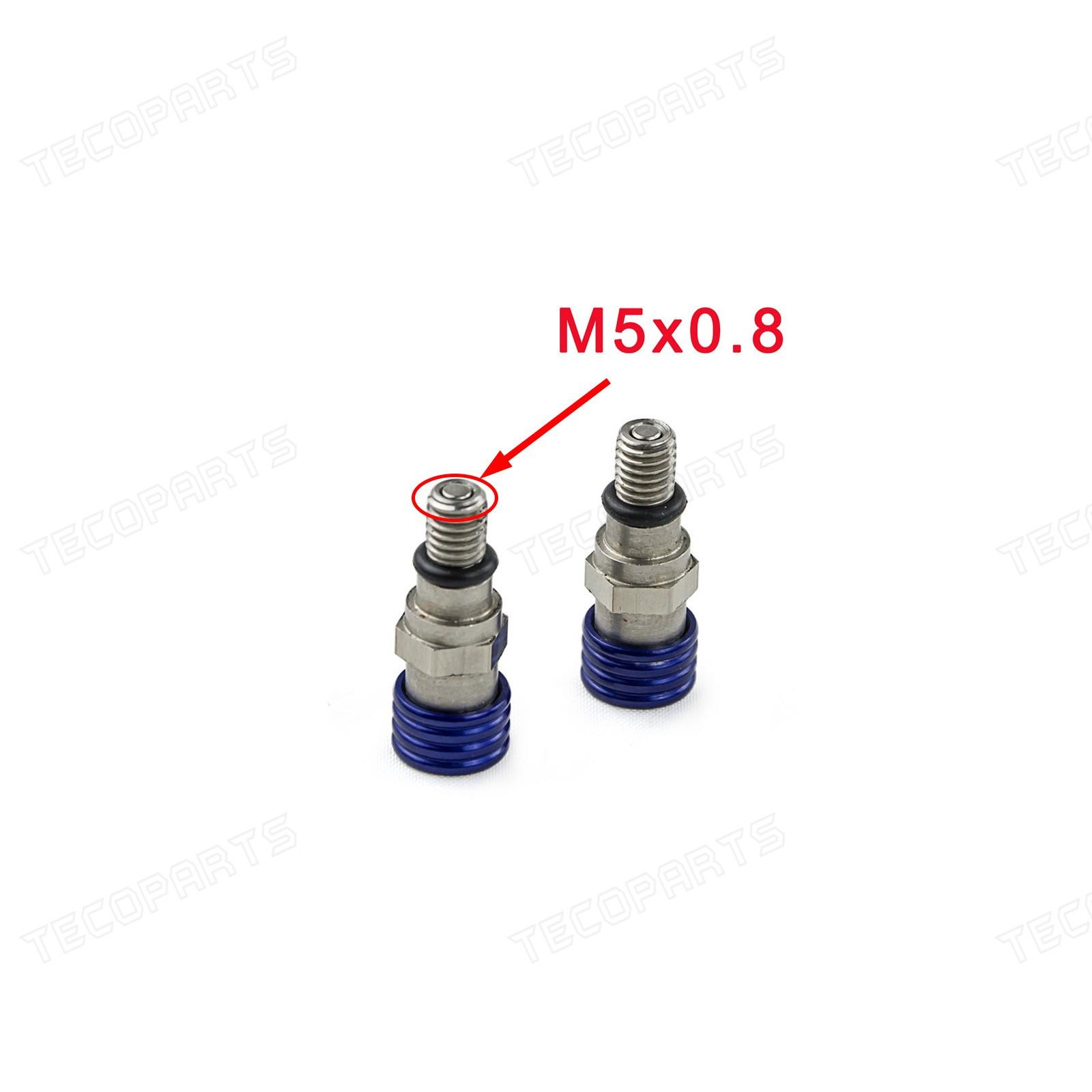 M5x0 8 Fork Air Bleeder Valves For Yamaha Yz Yzf Wr Wrf
