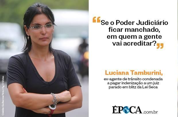 Luciana Tamburini Dizer que o juiz no Deus um fato no desacato