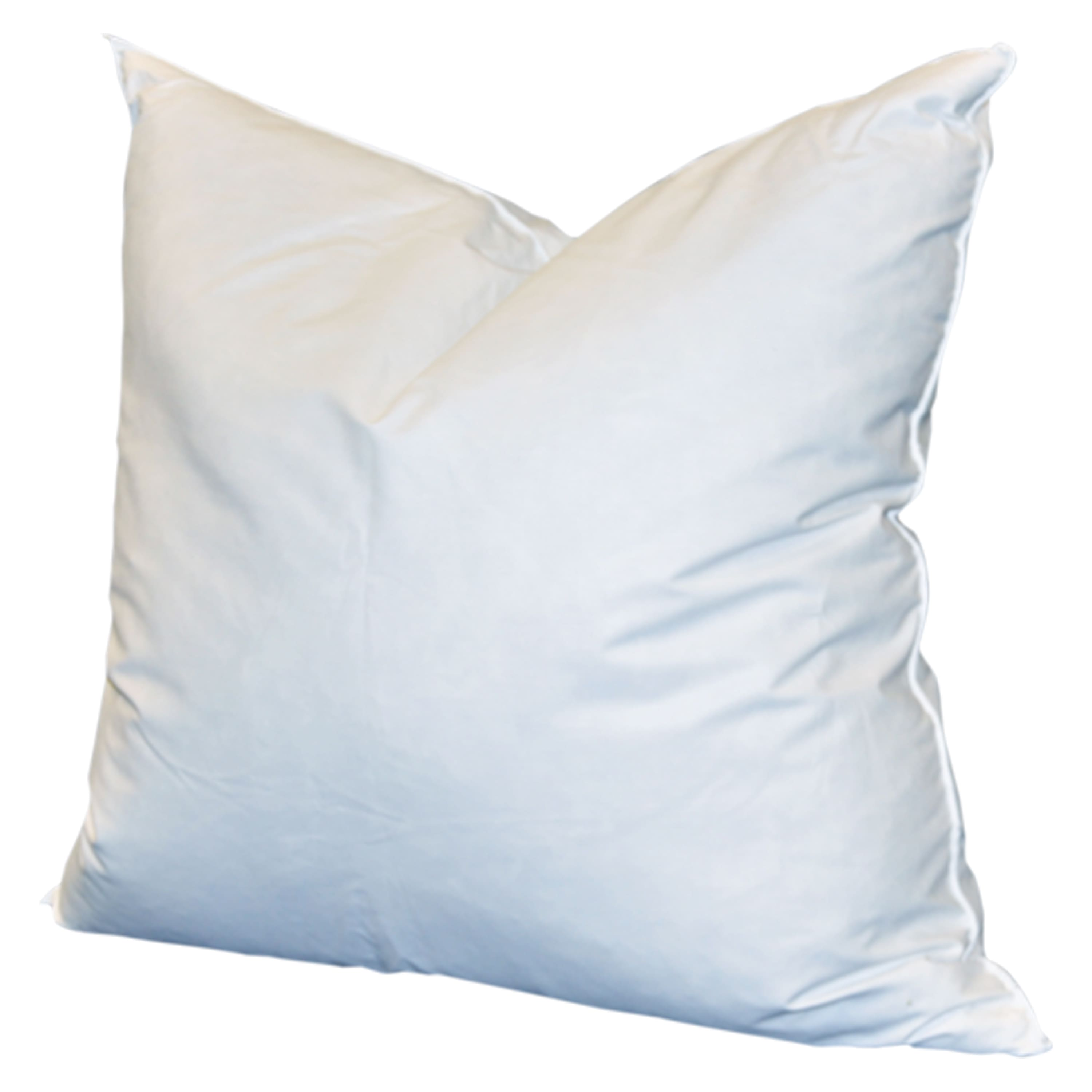 feather fil luxurious feather down pillow insert 18 x 18