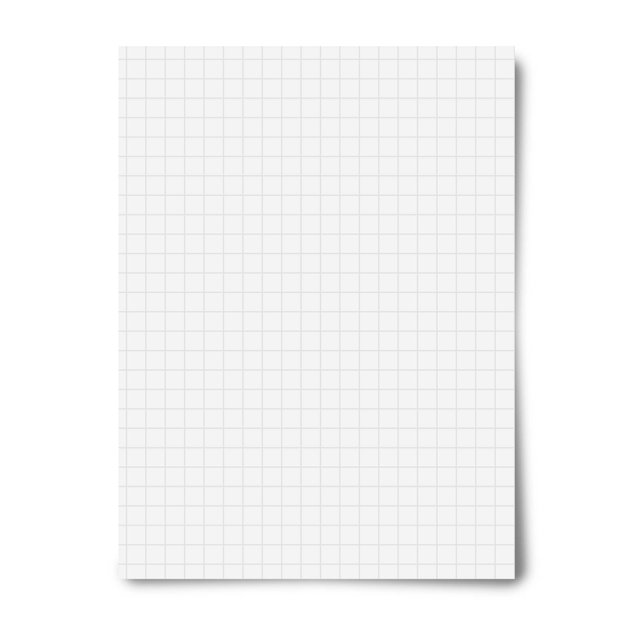 royal brites white grid heavyweight poster board