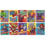 Find The Eureka Marvel Motivational Poster Bulletin Boards 2 Sets Of 10 At Michaels Com