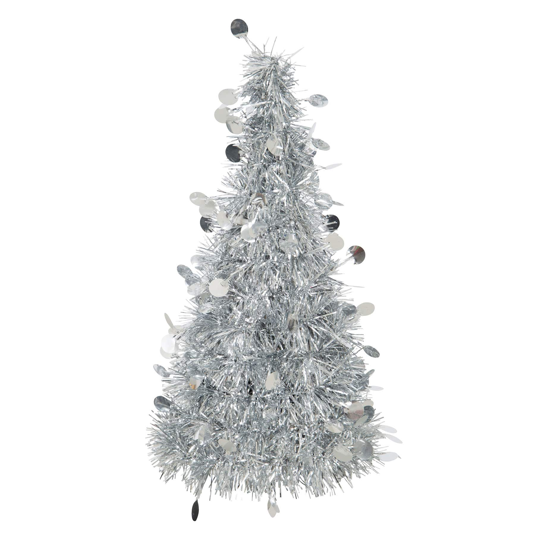 Silver Christmas Tree Table Decoration Christmas Party Decorations
