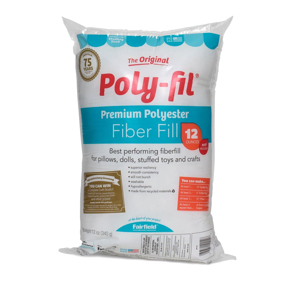 the original poly fil premium fiber fill bag 12oz