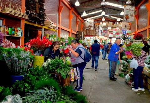 Mercado de Paloquemao, Bogotá.  Foto de Maximo Anderson para Mongabay.