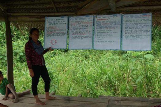 COVID19 Las comunidades nativas temen que el coronavirus llegue a sus territorios. Foto: Orpio.