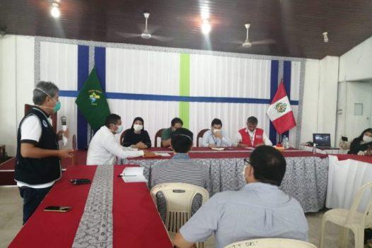 En Loreto se ha formado un comité multisectorial para enfrentar la pandemia. Foto: Orpio.