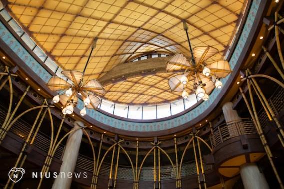 大廳飛船天花板@迪士尼探索家度假酒店