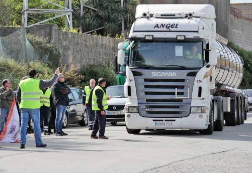 Fim da greve dos motoristas em Portugal