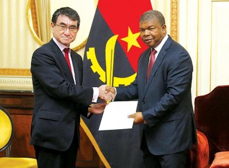 Presidente recebe convite do encontro Japão-África