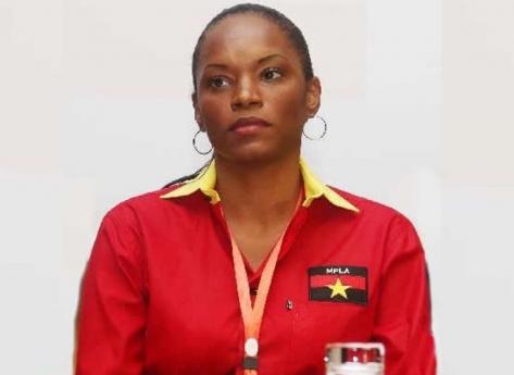 MPLA sugere a Tchizé dos Santos suspensão no mandato de deputada