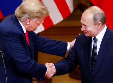 Trump e Putin debatem sobre conflitos e guerras