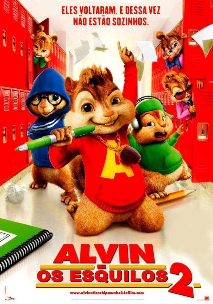 Poster do filme Alvin e os Esquilos 2