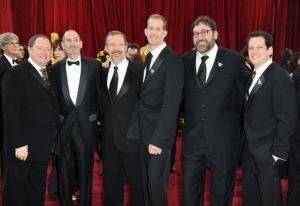 Disney/ Pixar execs at 82nd Academy Awards